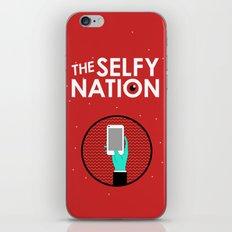 The Selfy Nation iPhone & iPod Skin