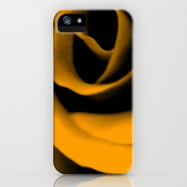 Yellow Rose III iPhone Case