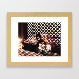 The Young Sādhu Framed Art Print