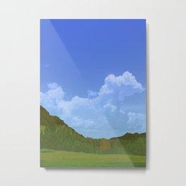 English Hills Metal Print