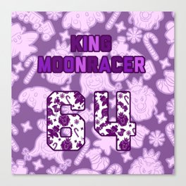 Moonracer Jersey Canvas Print