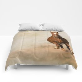 Galloping Horse Comforters