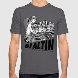 DJ Altin Shirt (Black and White Variant) T-shirt