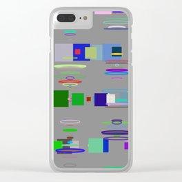 Random Vision 3-37 Clear iPhone Case