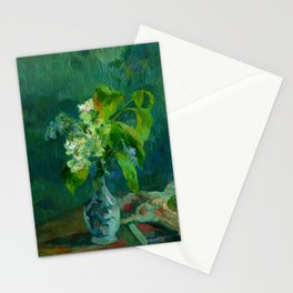 "Paul Gauguin ""Lilas"" Stationery Cards"
