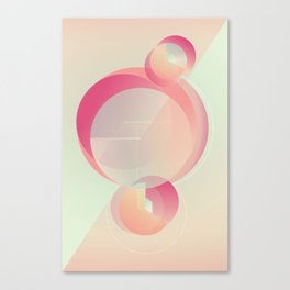 Alluring secret Canvas Print