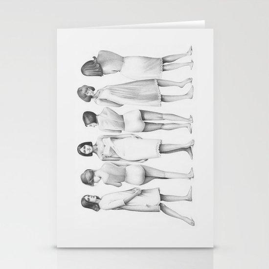 girls Stationery Cards