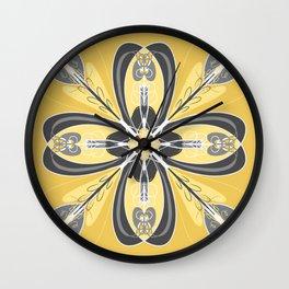 Magic Mandala 2 Wall Clock