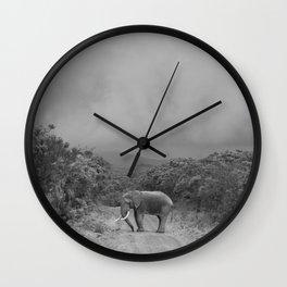 safari1 Wall Clock