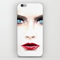 cara iPhone & iPod Skins featuring Cara. by Annie Mae Herring