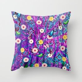 Retro Chic Throw Pillow
