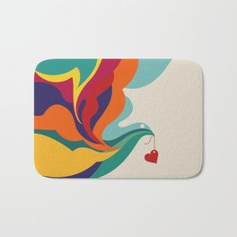 Love Message Bath Mat