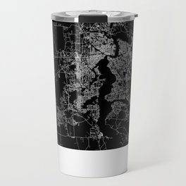 Jacksonville map Travel Mug