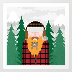 Bear Beard Art Print