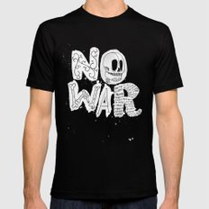 No War Black Mens Fitted Tee X-LARGE