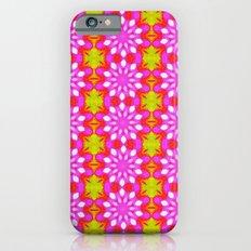 Flower Power Pattern Slim Case iPhone 6s