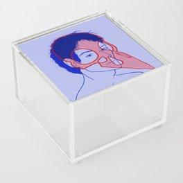 Crow Acrylic Box