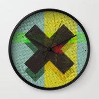 cross Wall Clocks featuring CROSS by Metron