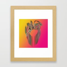 Floral Ring Framed Art Print