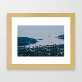 The View from Above  Framed Art Print
