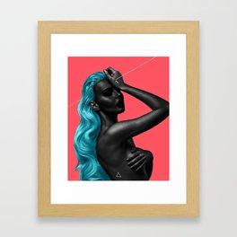 pierce Framed Art Print
