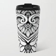 Sacred Flora Metal Travel Mug