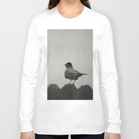 birdy Long Sleeve T-shirts featuring Birdy by Agrofilms