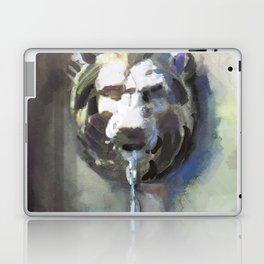 Lionhead Fountain Laptop & iPad Skin