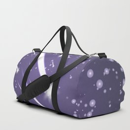Flying meteors. Ultra violet. Duffle Bag