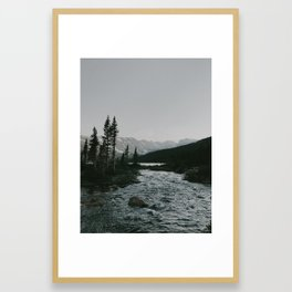 In The Stream Framed Art Print