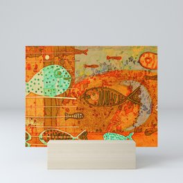 II VII digitized Mini Art Print