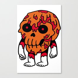 Cheese Skull Canvas Print