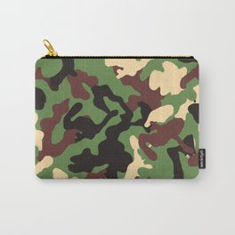 Natural Camouflage Pattern Carry-All Pouch
