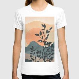 Orange Rising Sun T-shirt