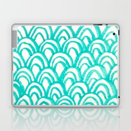 Minty Scales of the Sea Laptop & iPad Skin