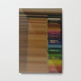 Coloured Pencils 2 Metal Print