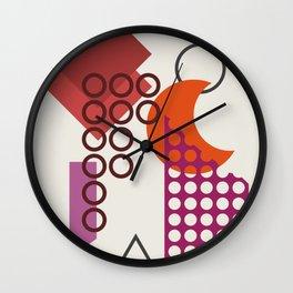 Abstract No.18 Wall Clock