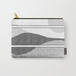 Monochrome Sunset Carry-All Pouch