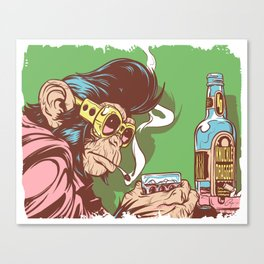 Knuckle Dragger Canvas Print