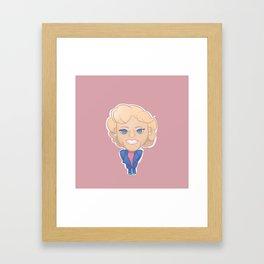 Rose Nylund Framed Art Print