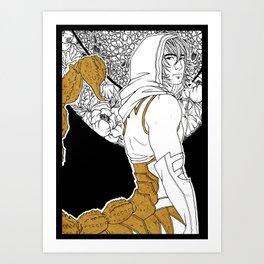 [Caelum Florescens] Scorpio Art Print