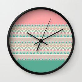 Ethnic , ornament , tribal 2 Wall Clock