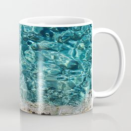 Crystal Blue Ripple Coffee Mug