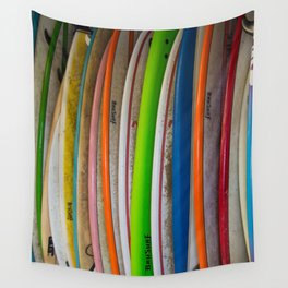 Surfboards For Rent Wall Tapestry