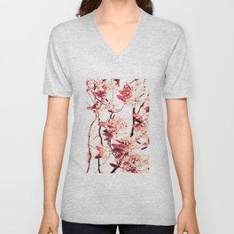 Spring Blossum Unisex V-Neck