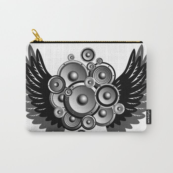 Abstract music illustration Carry-All Pouch