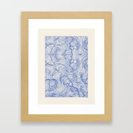 Reality Inbetween Framed Art Print