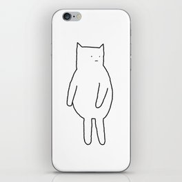 Cat 67 iPhone Skin