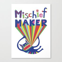 Mischief Maker Canvas Print