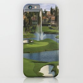 GOLF COURSE iPhone Case